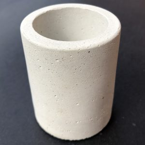 Cement Candle Container