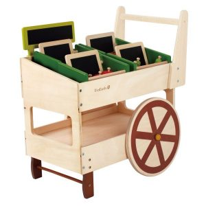 Organic Fruit And Vegetable Cart