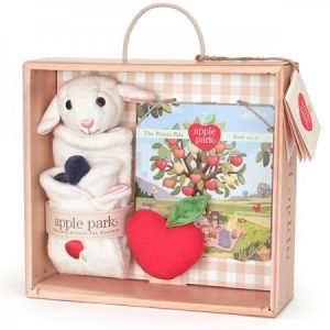 Lamby Blankie, Book and Rattle Gift Set