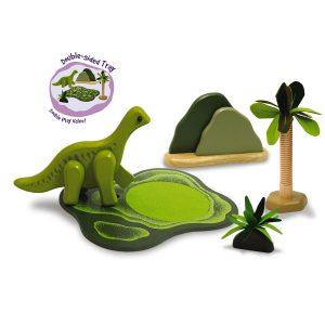 DinoZone - Dino Savannah Set - Brachiosaurus