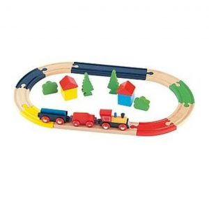 Train Set Wooden