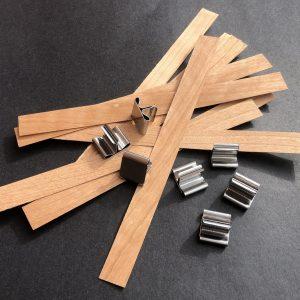 Wood Wicks 150 mm x 13.5 mm (iww01)