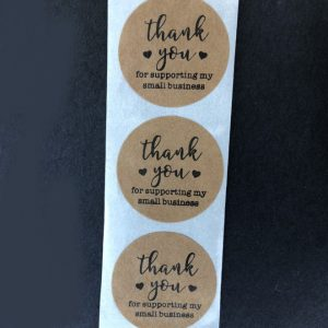 Thank You For Supporting My Small Business Stickers Type 4