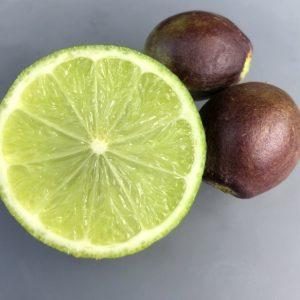 quandong and lime