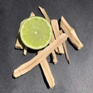 tahitian lime and sandalwood