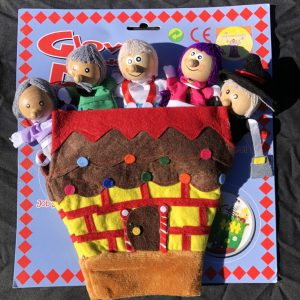 Glove Finger Puppets -Hansel and Gretel