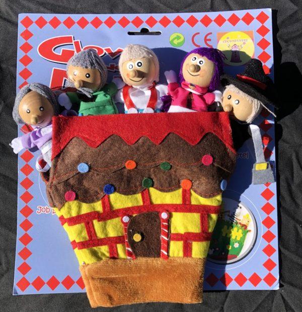 Glove Finger Puppets -Hansel and Gretel