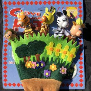 Glove Finger Puppets - Jungle
